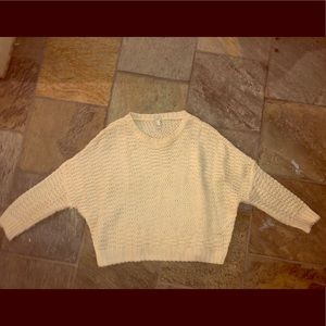 Forever 21 Cream Knit sweater